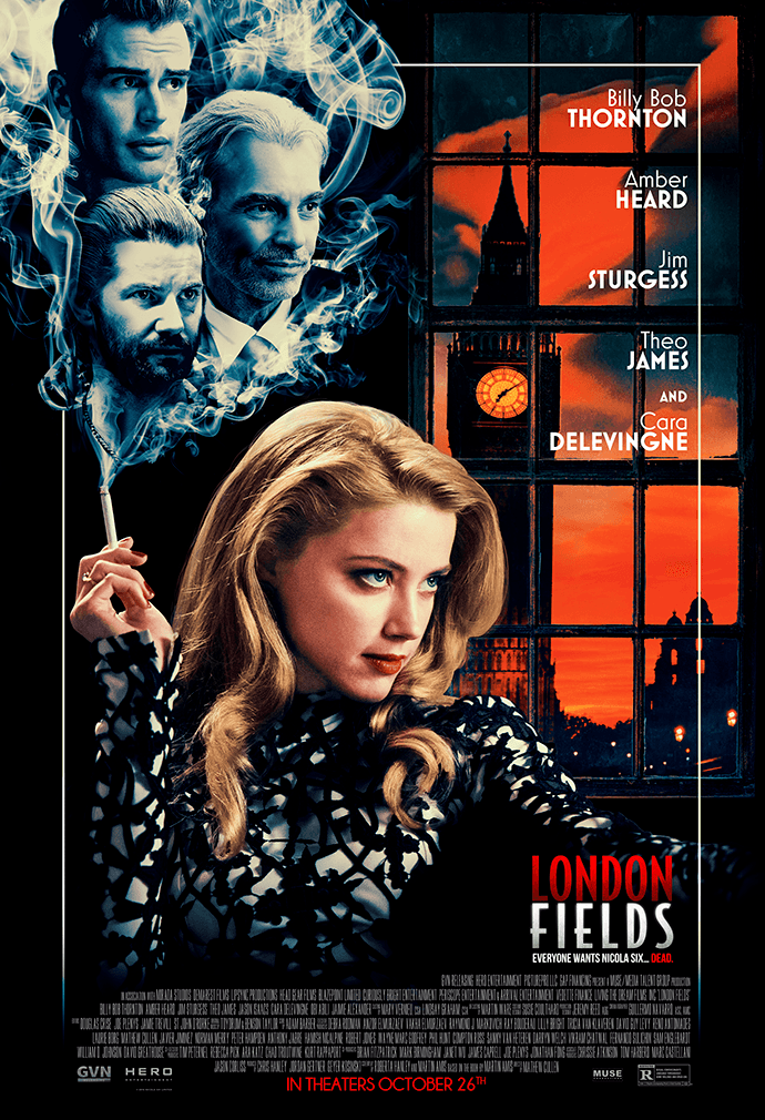 Official London Fields movie poster image